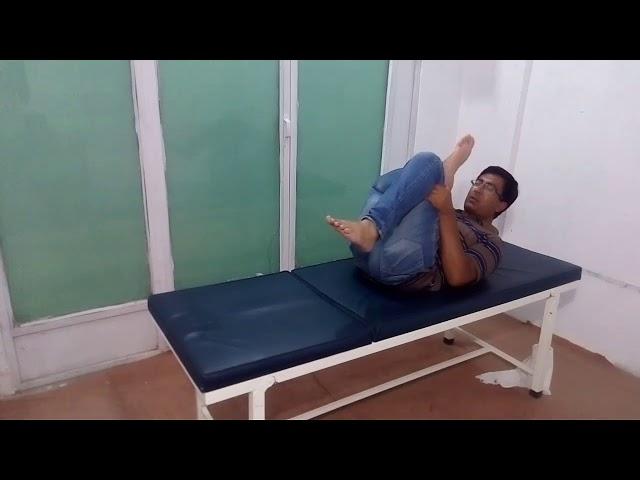 Sciatica pain exercise no 2 Chiropractor Aamir Shahzad CPT