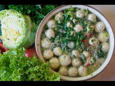Суп с фрикадельками, рецепты с фото на