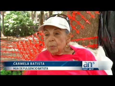 Hija de Fulgencio Batista junto a su hija desaparecen de un parque de Fort Lauderdale
