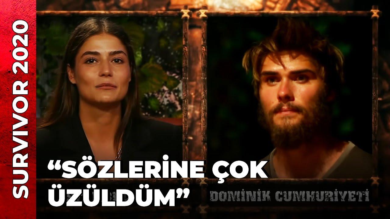 GİZEM'DEN BARIŞ'A İLGİNÇ SORU   Survivor 2020