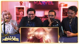 Marvel Studios' Captain Marvel - Official Trailer Reaction