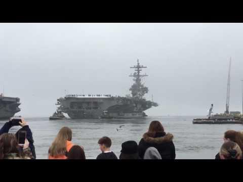 USS George H.W. Bush deployment