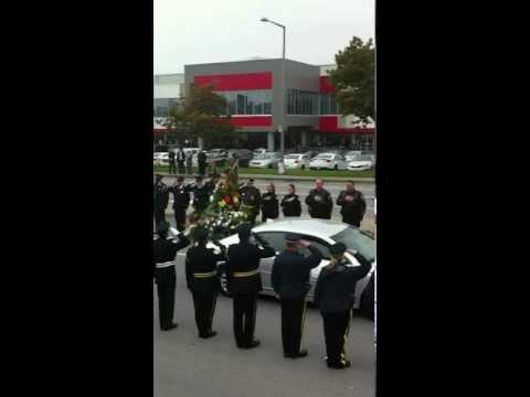 funéraille de katia Hadouchi policière de la SQ décédé en service