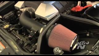 2010 2014 chevrolet chevy camaro ss cold air intake system kit k 63 3074 info