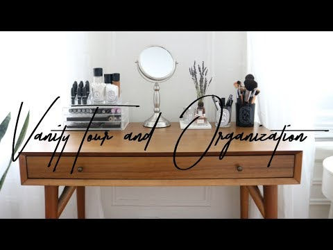 SMALL VANITY TOUR & ORGANIZATION | SIMPLE & MINIMAL