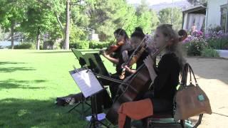 String Trio LosAngeles Ceremony and Wedding Musicians