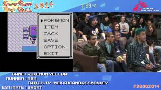Summer Games Done Quick 2014 - Part 152 - Pokemon Yellow