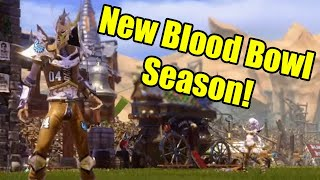 Crendorian Blood Bowl League Season 8 - Week 1 (New Season!): Dark Elves vs High Elves