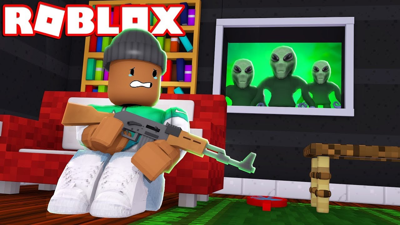 2018 Alien Invasion Roblox Roleplay Youtube