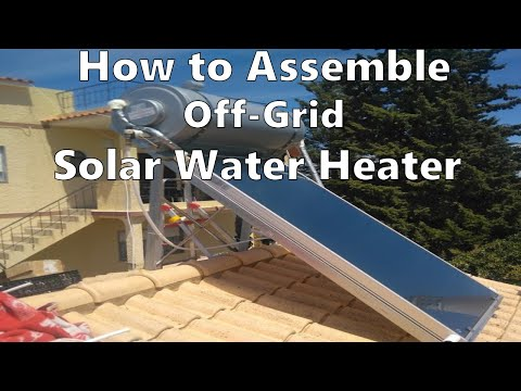 Thermosiphon solar water heating system