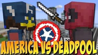 CAPTAIN AMERICA VS DEADPOOL - Minecraft Superhelden #2 [Deutsch]