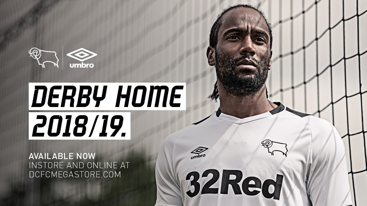 On Sale Now Derby County Home Kit 2018 19 Youtube