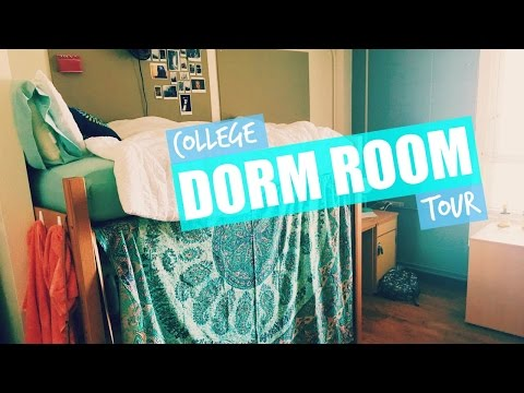 College Dorm Room Tour | Justali (University of Texas)