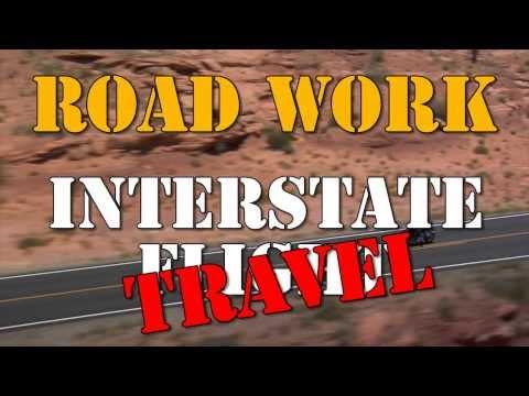 Road Work Interstate Travel
