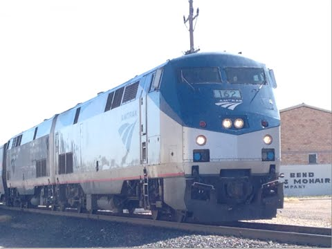 Riding Amtrak's Sunset Limited from Houston to Alpine, TX Feat  UP 6730 CNW & SSW 9642