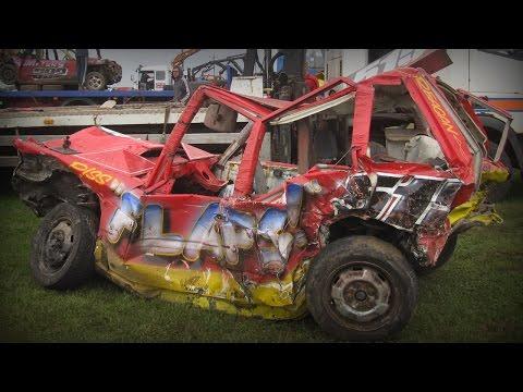 Skegness All Bluebirds 2016 Crash Highlights - Banger Racing