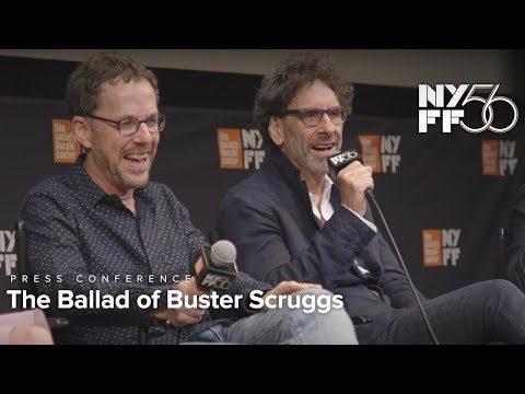 'The Ballad of Buster Scruggs' Press Conference  Joel & Ethan Coen and Cast  NYFF56