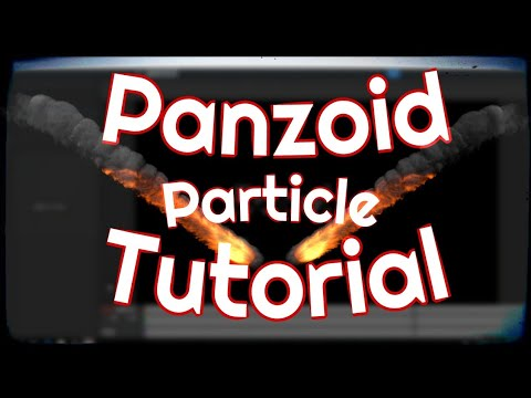 How To Make Simple AE like Particles & Smoke in Panzoid [2018 Panzoid Tutorial]