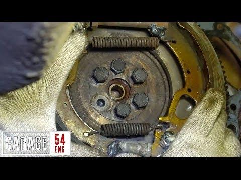 DIY centrifugal clutch for a Lada