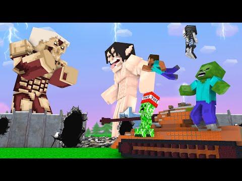 Monster School Bad and Good TiTan - Minecraft Animation