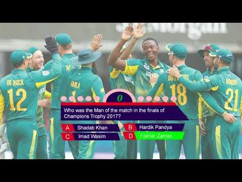 Cricket Quiz   Easy Champions Trophy 2017 Quiz   Just Test Your Mind
