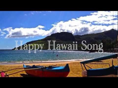 Happy Hawaii Song [w/ Lyrics and FREE Ukulele Music]