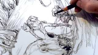 A Reading With Chris Riddell : The Bone Trail