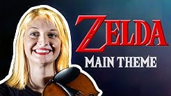 ZELDA Main Theme Song - Violin & Cello (HQ) Music from Title, Intro, Menu OST SOUNDTRACK