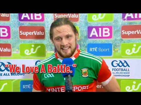 Pádraig O'Hora Great Man Of The Match Interview - Mayo vs Dublin | All-Ireland Semi-final 2021