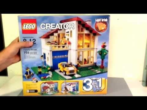 Lego Creator Set # 31012 Family House Review & Animation Build
