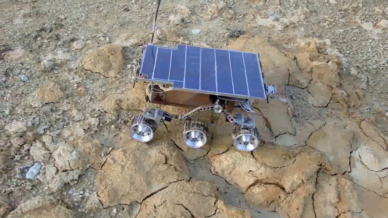 Mars rover Sojourner remote control model YouTube