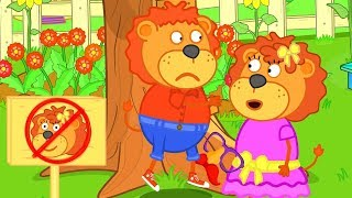 Lion Family Treehouse for Friends Cartoon for Kids