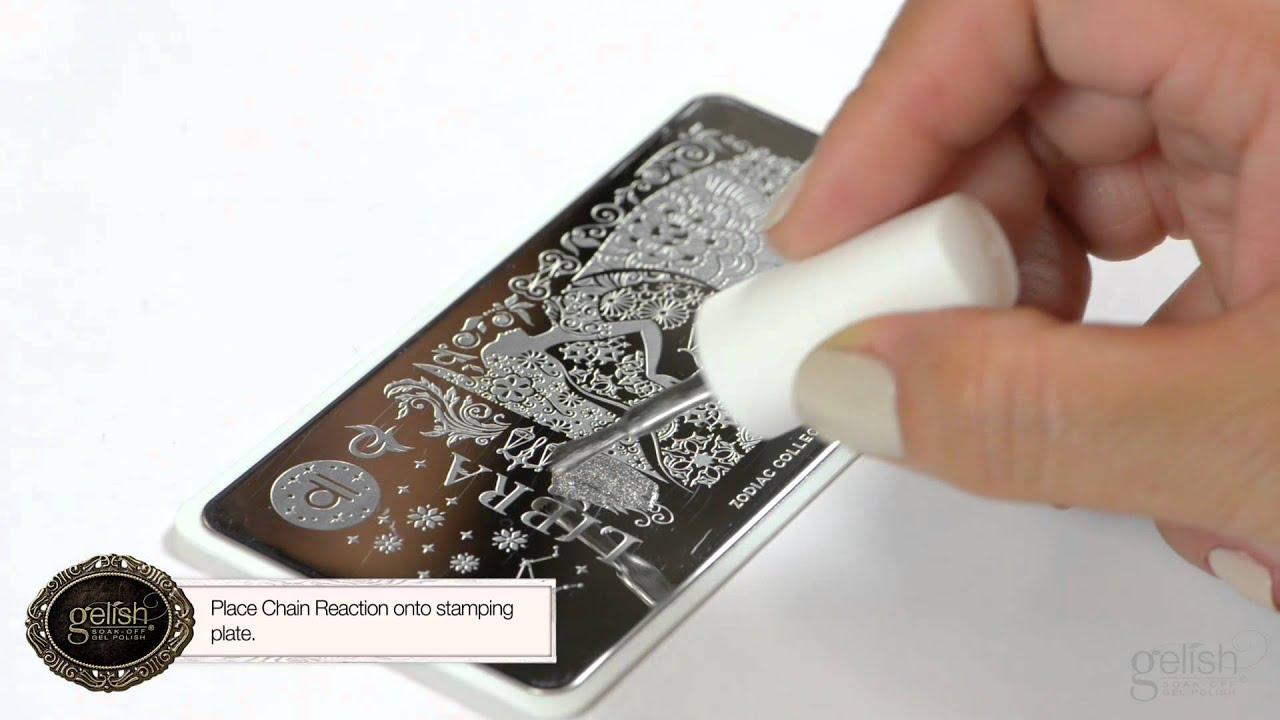 Gelish Fall 2015 Nail Art Tutorial: Cowgirl Style - YouTube