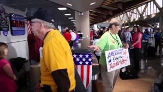 Southwest flies Veterans to Washington, D.C. to see their war memorial