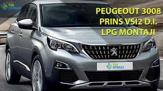 Peugeot 3008 Yeni Nesil Araca Prins VSI2 DI LPG Montajı