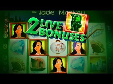 Jade Mokey Play + 2 Live Bonuses!! - 5c WMS Video Slots - 동영상