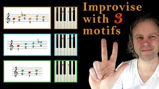 "Gambar cover ""3"" small LICKS to improvise a thrilling BLUES (& JAZZ) solo"