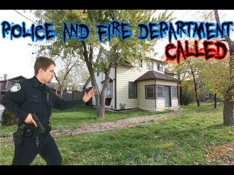 Abandoned Car Mechanic House (Fire Department & Police Called) Oakville Ontario
