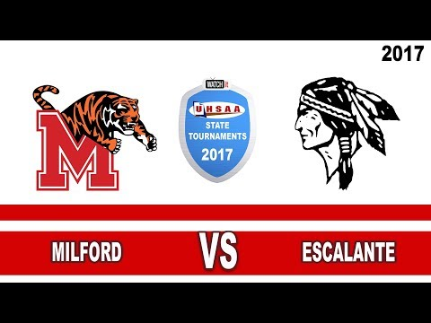 1A Volleyball: Milford vs Escalante High School UHSAA 2017 State Tournament Round 1