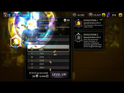 Heroic-Magic Duel-Hammer of the Gods lvl 8 |