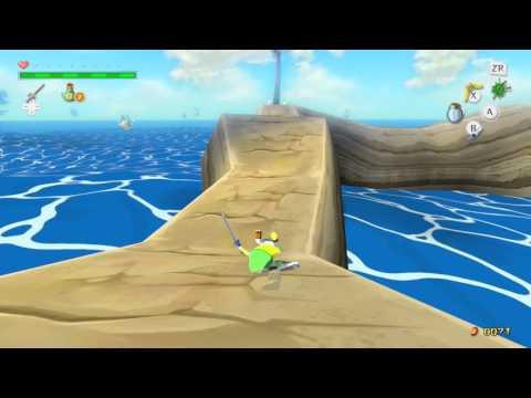 Zelda Windwaker HD Treasure Chart #21 Cyclops Reef Reward