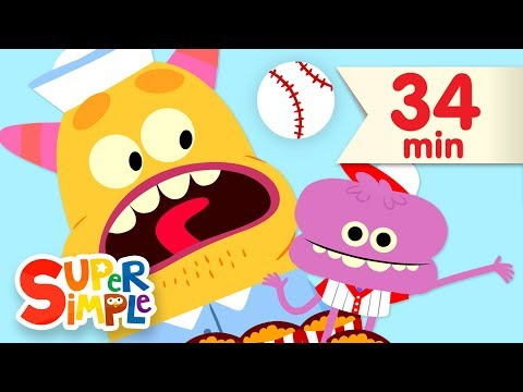 Take Me Out To The Ball Game | + More Kids Songs | Super Simple Songs