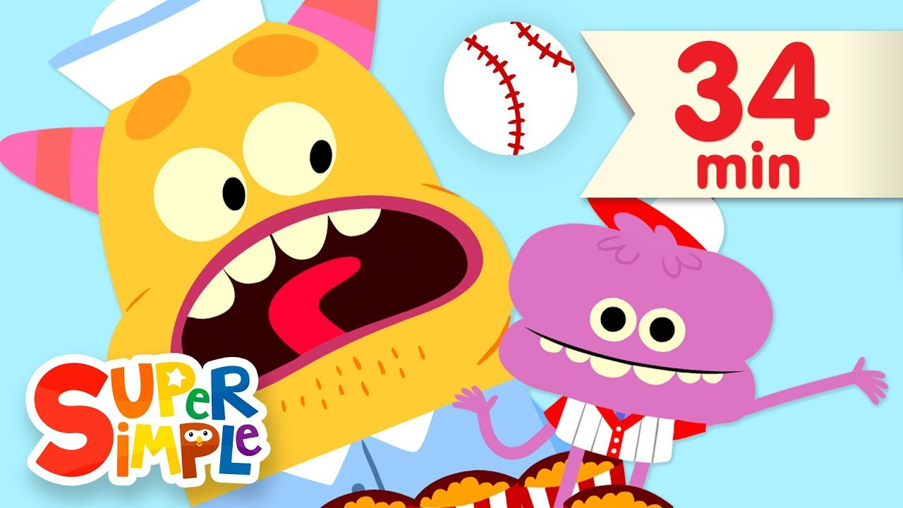 Take Me Out To The Ball Game More Kids Songs Super