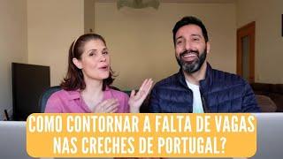 Não há vagas nas creches em Portugal