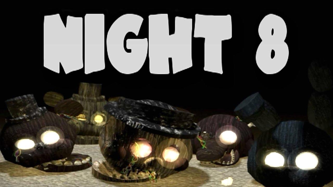 The return to freddy s 3 secret night 8 ending youtube