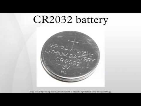 cr2032 battery youtube. Black Bedroom Furniture Sets. Home Design Ideas