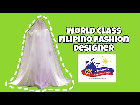 MAYMAY ENTRATA WHY NOT HERE? Ystilo At Moda Featuring World Class Filipino Fashion Designer In Dubai