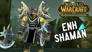 Wow Burning Crusade Gear Guide 8 Enhancement Shaman Youtube