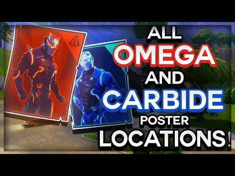 All Carbine & Omega Poster Locations For Week 6 Challenge