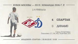 Спартак 2006 г. р.   Динамо 40